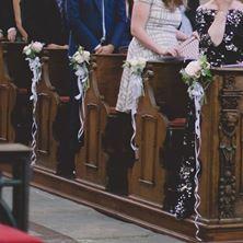 Picture of Wedding isle decoration