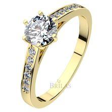 Obrázek Zásnubní prsten - Isisi Gold, White