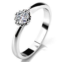 Obrázek Zásnubní prsten - Helios White, Gold