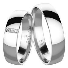 Obrázek Snubní prsteny Luisella Silver