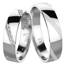 Obrázek Snubní prsteny Manu