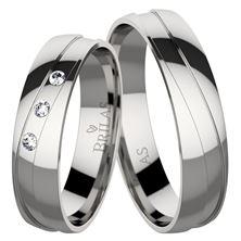 Obrázek Snubní prsteny Regina Steel
