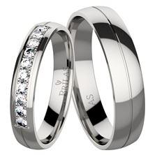 Obrázek Snubní prsteny Rachel Steel